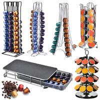 60 Coffee Capsules Pod Holder Stand Dispenser Rack Storage Capsule For NESPRESSO