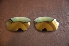 PolarLenz POLARIZED 24k Gold Replacement Lens for-Oakley Half Wire 2.0