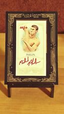 2012 Allen & Ginter RED INK Auto AGA-MPH ** MICHAEL PHELPS ** Olympic Swimmer