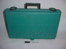 VINTAGE MAKITA BLUE 9.6V DRILL TOOL STORAGE BOX CASE ONLY