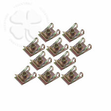 10X M5 5mm U Nut Fairing Clip, Extruded Steel Fastener Speed Mounting Clamp