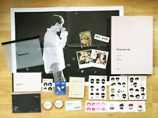 OFFICIAL 100% BTS Fansite SUGA Photobook Masking Tape BT21 Badge Sticker Poster