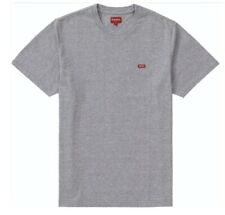 Brand New SUPREME Small Box Logo T Shirt Tee Grey Red Size Large