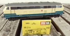 Brawa 0383 Diesel Locomotive Br 216 135-4 DB Ag Epoch 5/6, 3-Leiter AC Digital
