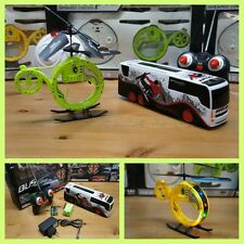 COMBO PACK HELICOPTERO ELEPHANT RC + SUPER CRAZY BUS RADIO CONTROL