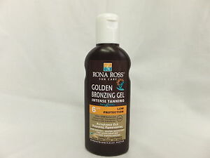 Rona Ross Golden Bronzing Gel Intensive Tanning SPF 6 (160ml)  EXPRESS P&P