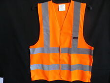 10 X  HI VISIBILITY SAFETY VESTS  IN  S  M  L  XL XXL