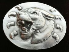 Bulldog Dog Belt Buckle Dogs House Pets Canine BullDogs Cool New Belts & Buckles