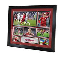 Arjen Robben Signed Bayern Munich photo Framed Memorabilia Limited Edition