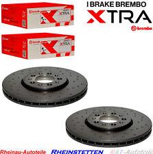 Brembo XTRA Sport-VA-288mm-2xBremsscheiben-VW Bora, Golf IV, Polo, New Beetle