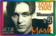 RARE / CARTE TELEPHONIQUE PREPAYEE - TAKE THAT : MARK / PHONECARD