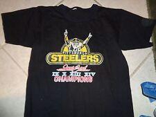 80s Small fit VTG Pittsburgh Steelers 1980 Super Bowls shirt Lynn Swan Soft Thin