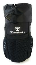 Moosetreks Bike Handlebar Stem Bag Water Bottle Gear Holder Bikepacking Touring