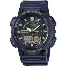 Casio Business Watch Standard Blue Mens Aeq-110w-2a