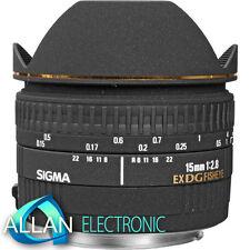 Neu Sigma 15mm f/2.8 EX DG Fisheye Lens for Nikon