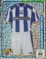 287 HOME KIT SCOTLAND KILMARNOCK.FC STICKER SCOTTISH PREMIER LEAGUE 2010 PANINI