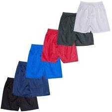 Mens/Womens Boys/Girls Football Rugby Shorts Gym Running Sports SchoolP.E Shorts