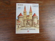 FRANCE CARNET TIMBRES CROIX ROUGE Neuf 1971