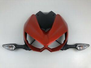 Kawasaki Z1000 Vorne Verkleidung Windschutzscheibe Blinker Cowling Nose Orange