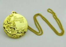 Munich 1972 Olympic Gold Medal with Chain 1:1 Full Size