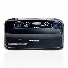 NEW Fujifilm FinePix REAL 3D W3 10.0MP Camera - Black (US, European Version)