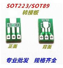 10pcs adapter board SOT89 to DIP SOT223 to DIP 1.5mm pitch#SE305-2