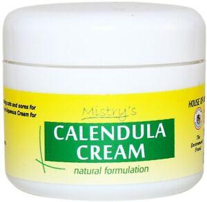 Mistry's Calendula Cream 50g - Naturally Vegan - Healing , Soothing, Calming
