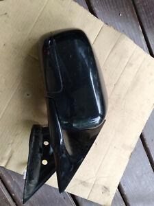 11 - 13 INFINITI M37 PASSENGER DOOR MIRROR 11 WIRES BLACK
