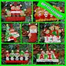 Personalised 3,4,5 Family Christmas / XMAS Tree Decoration Gift Bauble Ornament