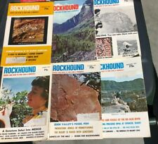ROCKHOUND Magazine .  All 1973 issues.