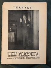 """HARVEY"" -Joe E. Brown-1948 Broadway Playbill"