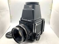 【 EXC+5】 MAMIYA RB67 Pro Body + SEKOR 127mm F3.8 Lens + 120 Film Back From JAPAN