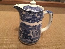 Antique George Jones & Sons Abbey 1790 England Make Jug Blue And White Transfer
