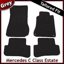 Tailored Carpet Mats for MERCEDES C-Class S203 Estate 2000-2007 GREY