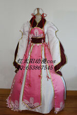 Japanese Anime Tsubasa: Reservoir Chronicle Princess Sakura Dress Cosplay Costum