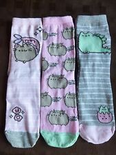 PUSHEEN THE CAT Novelty Ladies Socks Womens Size 4-8 Birthday Gift Last One!