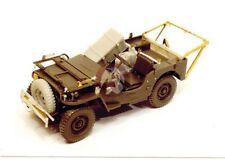 Resicast 1/35 British Airborne Jeep RAMC Medical Conversion Set (Tamiya) 351148