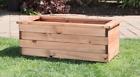 Assembled Extra Large Deep Garden Planter Trough Handmade Wood Raised Bed Pot