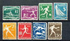 Nederland  212 - 219 gebruikt (1)