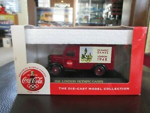 1:55 Coca Cola Delivery Truck 1948 London England Olympics Coke Lledo