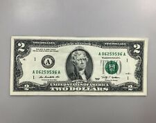 United States 2 Dollars 2009 Banknotes