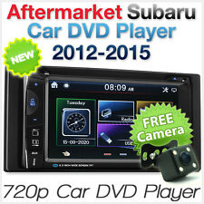 Car DVD Player Subaru Impreza Forester XV Stereo Radio USB Fascia Facia ISO Kit