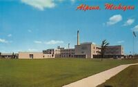 Alpena Michigan~Alpena General Hospital~1960 Postcard