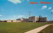 Alpena Michigan~Alpena General Hospital~1960 Postcard