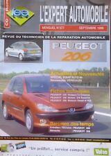 Revue technique PEUGEOT 206 essence TU EW diesel HDI RTA EXPERT N° 377 1999