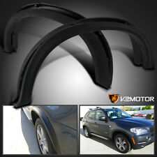 """07-13 BMW X5 E70 Arch Offroad Black Side Fender Flares 20"""" / 21"""" Cover Protect"""