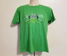 NYRR New York Road Runners Mighty Millers Boys Large Green T-Shirt
