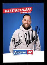 Basti retzlaff autografiada mapa original firmado # bc 110139