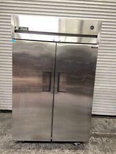 2 Door Reach In Refrigerator Nsf Cooler True Tg2R-2S #4749 Stainless Steel Mikes