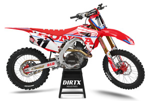 NEW DIRTX INDUSTRIES HONDA WINGS COMPLETE GRAPHICS CR CRF 125 150 250 450